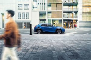 Premiär för nya Lexus UX 300e – Lexus första EV