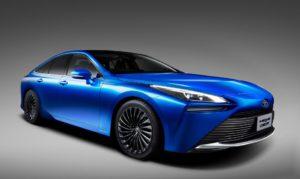 Helt nya Toyota Mirai: Vätgasbilen får längre räckvidd och ny design