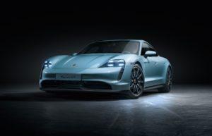 Porsche utökar sitt utbud av helelektriska sportbilar med Taycan 4S