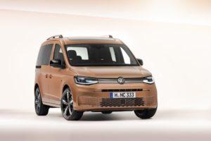 Världspremiär för den 5:e generationen av populära Volkswagen Caddy.