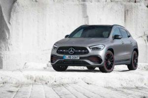 Svenska priser för nya Mercedes-Benz GLA.