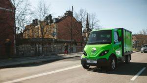 Inzile levererar Brings första ellastbil